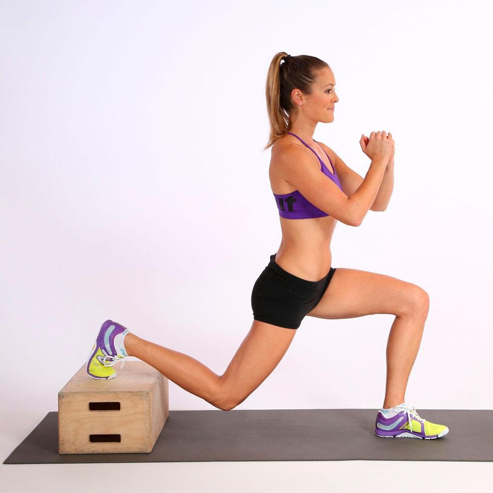 exercice de flexion pour augmenter le fessier et faire la taille
