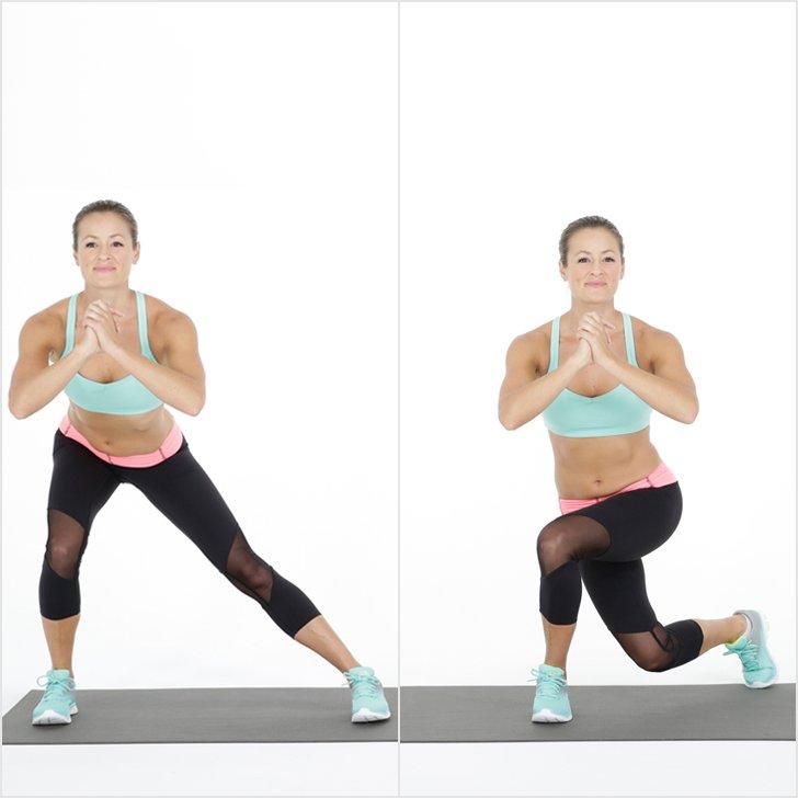 flexion avec jambes croisées fesses tonifiantes