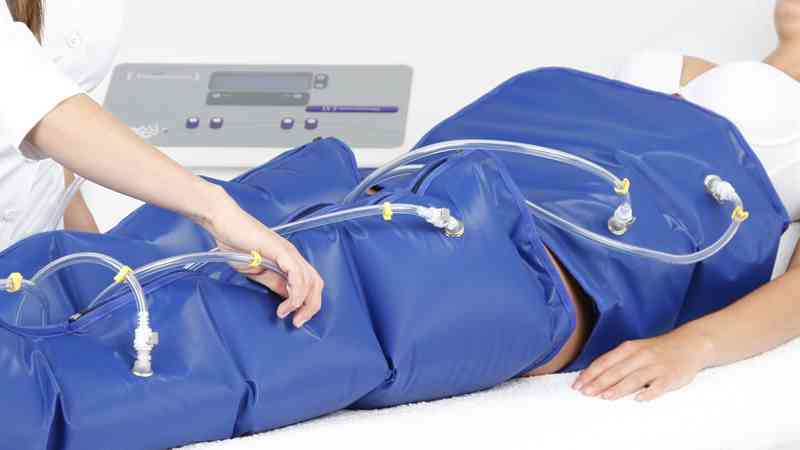 appareil pour abaisser le ventre avec pressothérapie