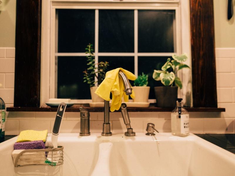 Maison propre et désinfectée